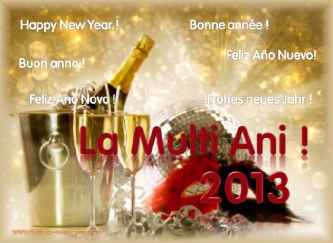 La Multi Ani 2013 !